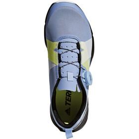 adidas TERREX Two Boa Shoes Women Chalk Blue/Chalk White/Core Black